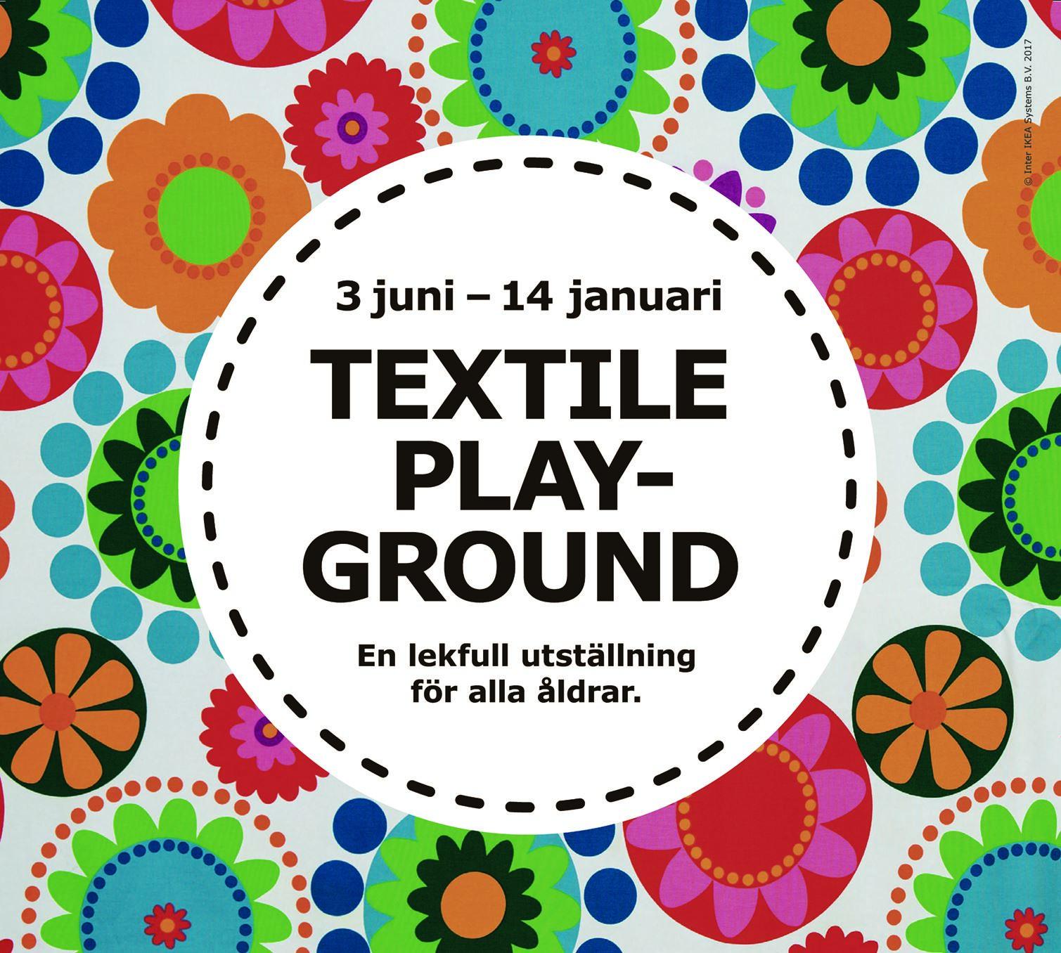 Utställning - Textile Playground