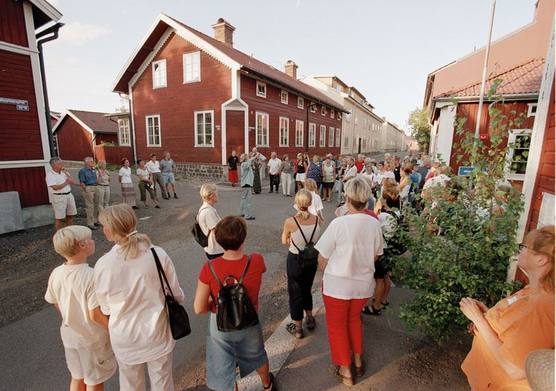 """Stadsvandring """"Det litterära Falun"""""""
