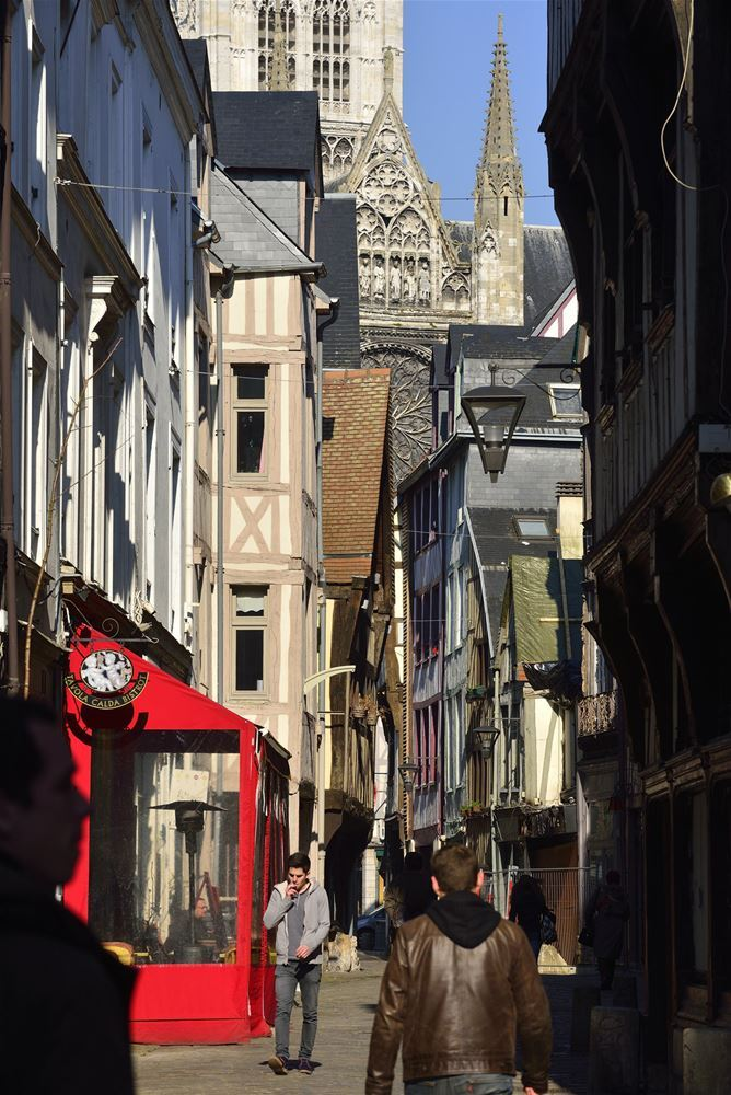 Nom de nom ! l'origine des rues de Rouen (visite guidée)
