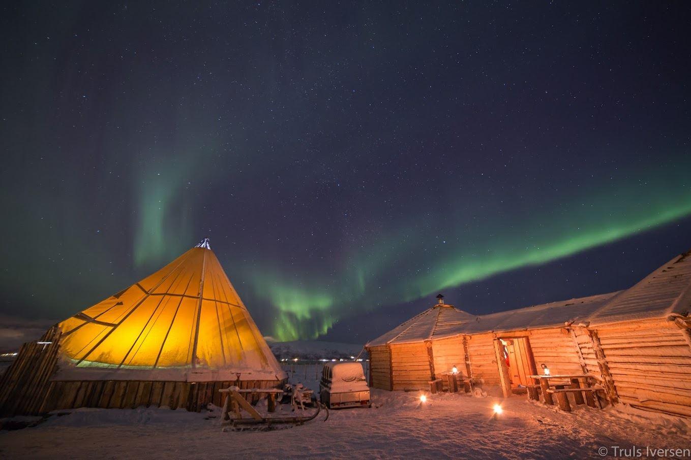 Samisk Middag i Reinsdyrcamp