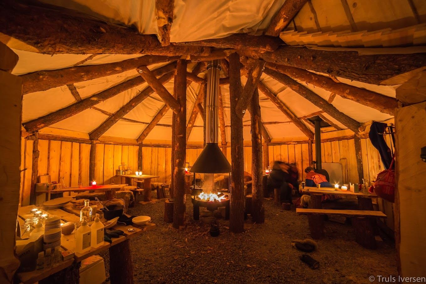 Sami Reindeer Camp Dinner