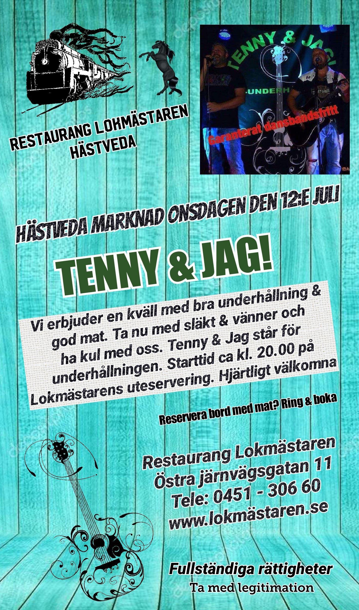 Tynny & Jag på Lokmästaren