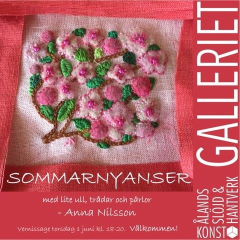 Wool crafts exhibition: Summer hues at Galleriet