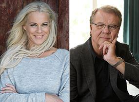 Malena Ernman och Lasse Berghagen