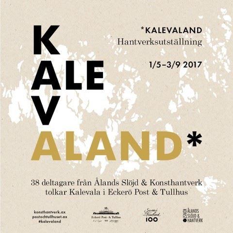 Eckerön posti- ja tullitalon kesänäyttelyt: Kalevaland & Squin