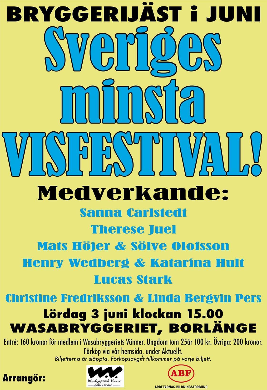 Sveriges minsta visfestival