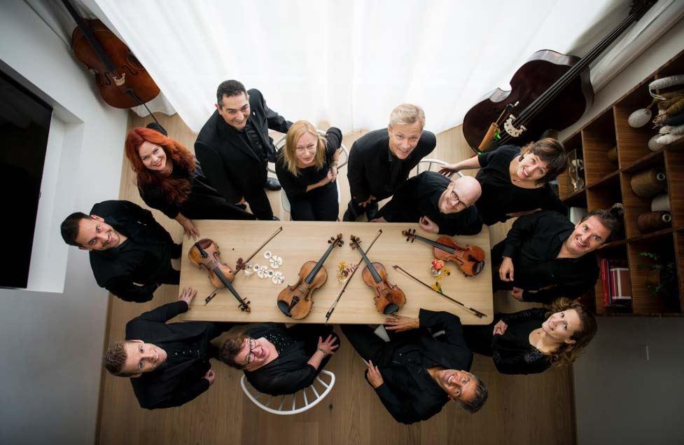 Klosterkonsert med Malin Broman (violin) och Musica Vitae