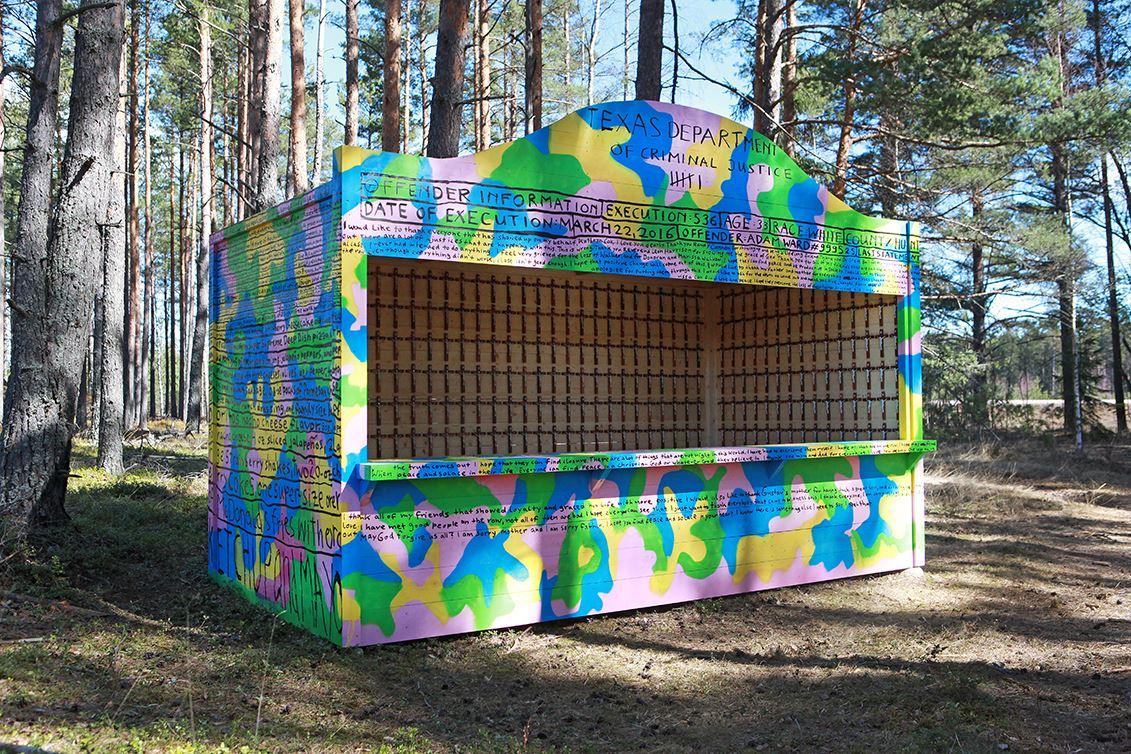 Johanna Syrén,  © sveriges Fängelsemuseum, konstnärlig gestaltning av Sebastian Mugge