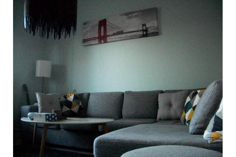 Arvika - 60 m2 - 1 dubbelsäng och 1 enkelsäng - balkong - parkering - wifi