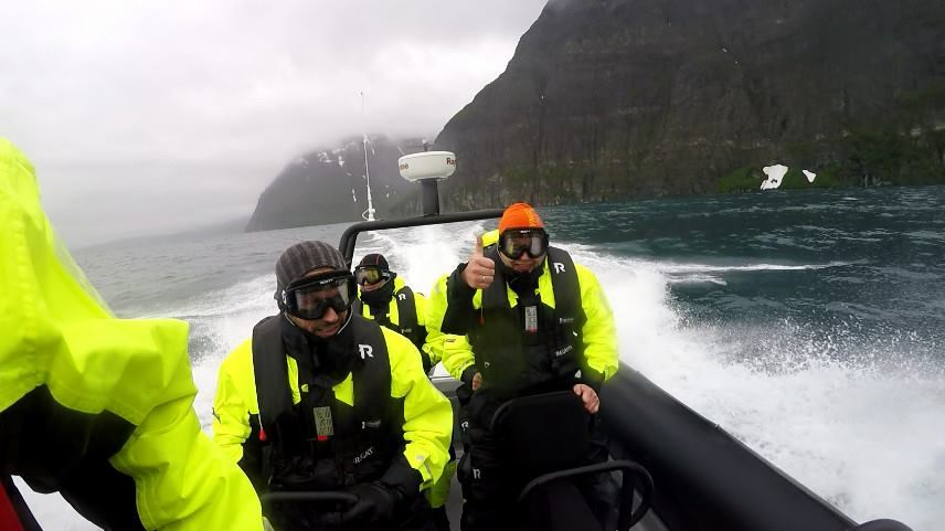Lyngen Adventure,  © Lyngen Adventure, RIB boat fjord tour and distillery visit