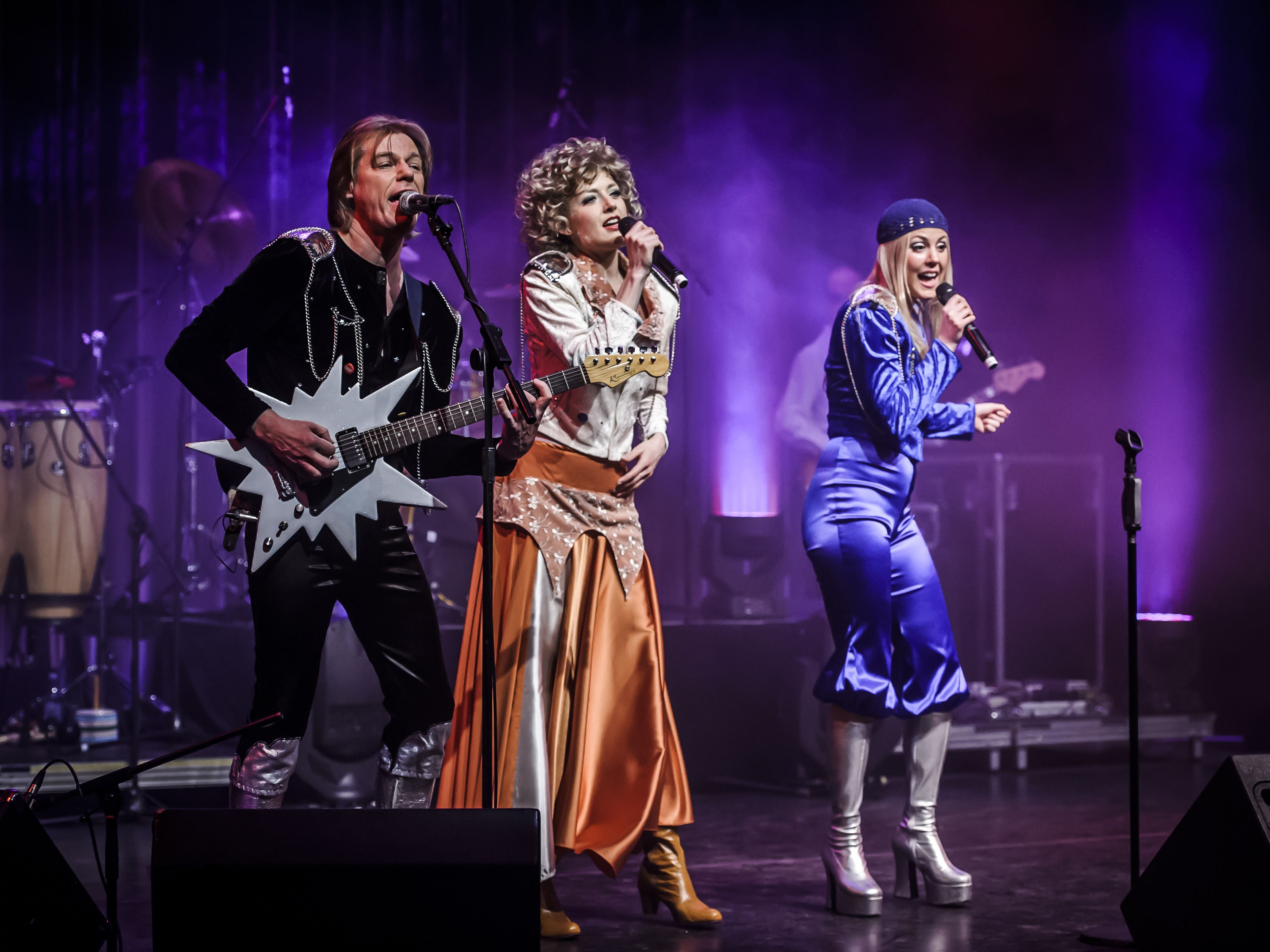 Swedish Legend - Absolut ABBA Tribute. Special guest: Harpo (Moviestar)