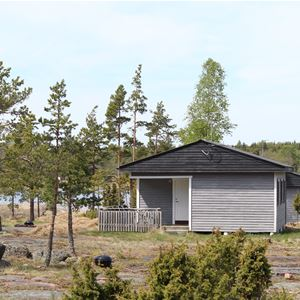 Eckerö Camping, motorhomes and caravans