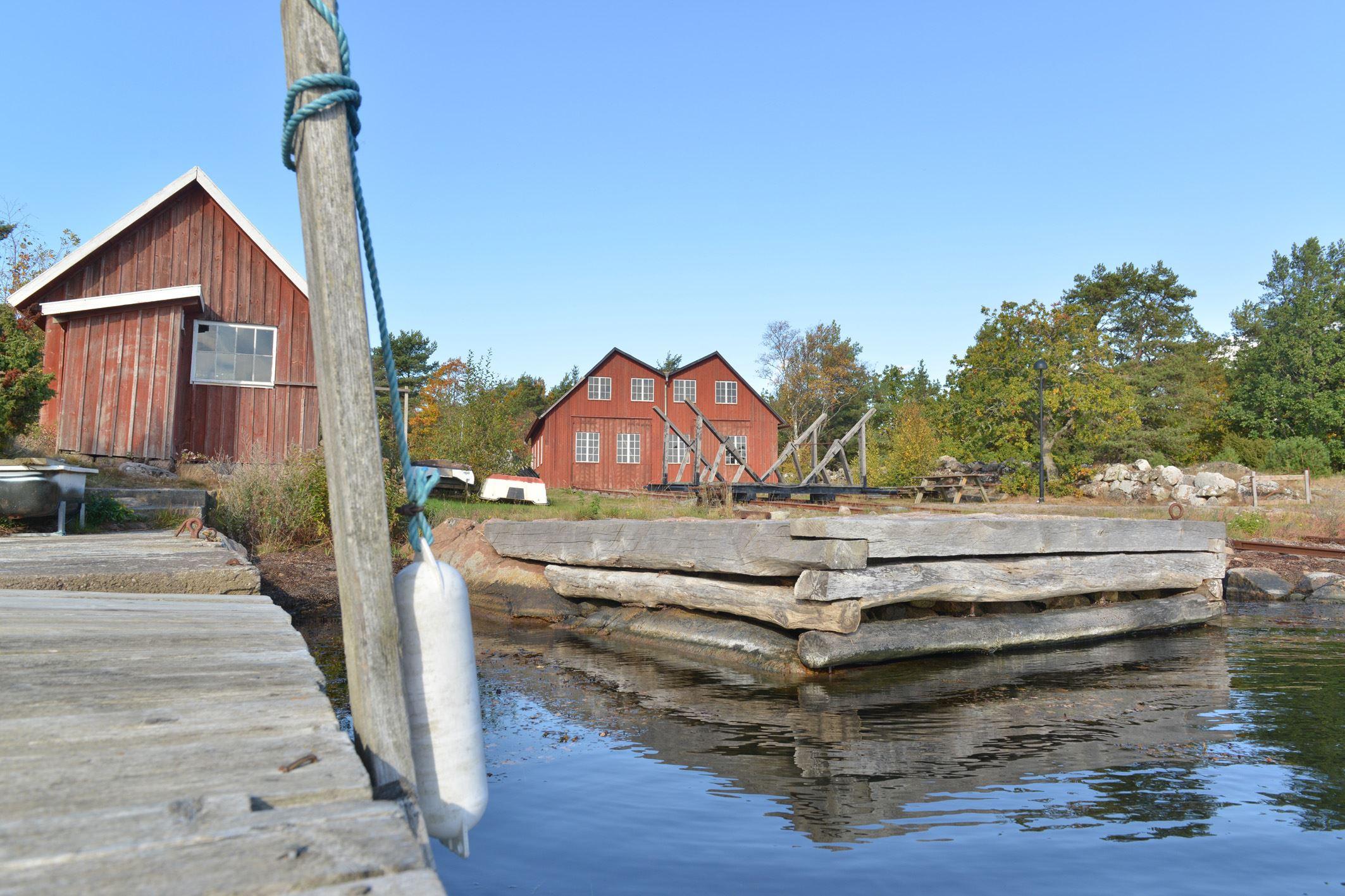 Janne Öberg, Varvets dag på Hästholmen