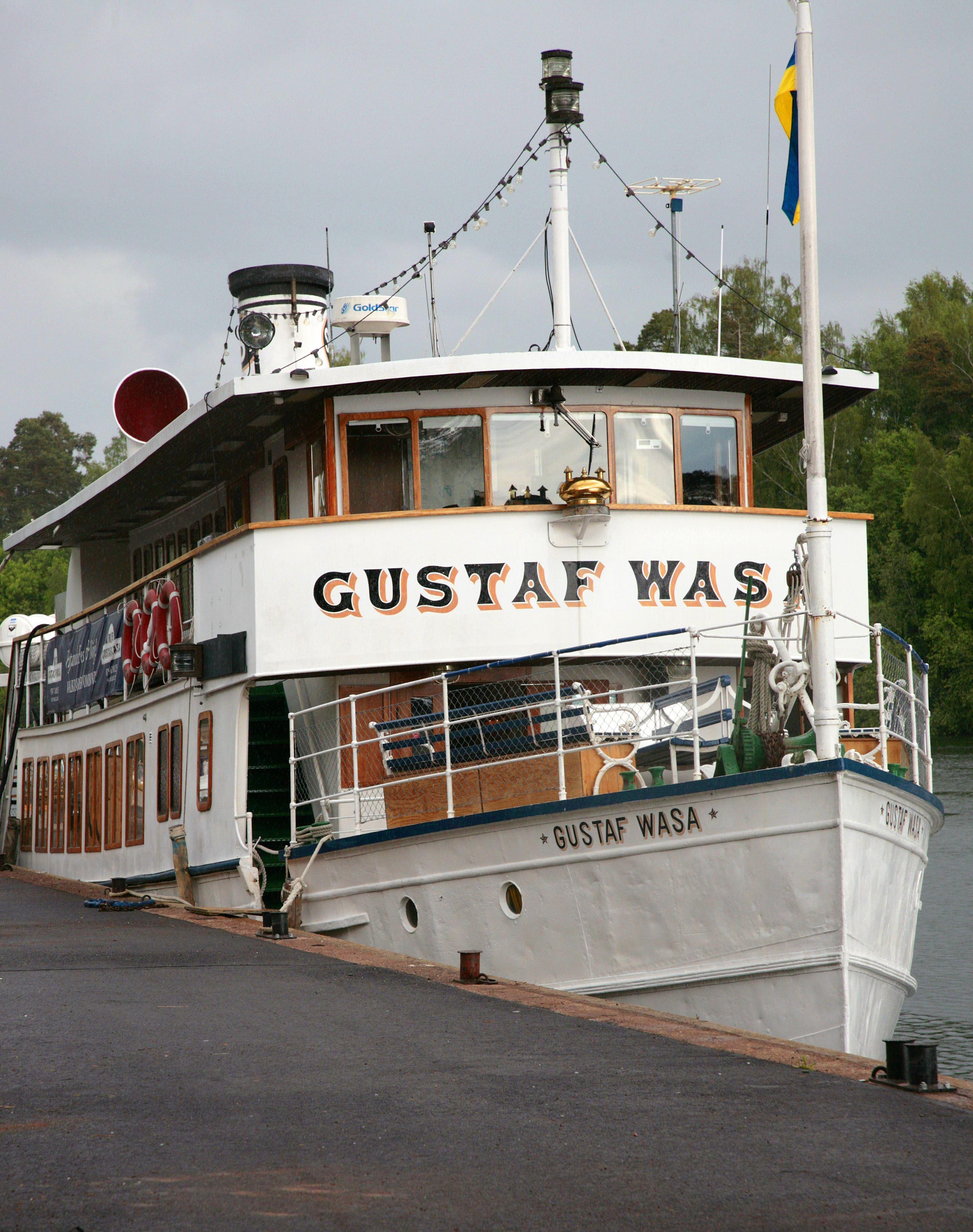 M/S Gustaf Wasa, kryssning