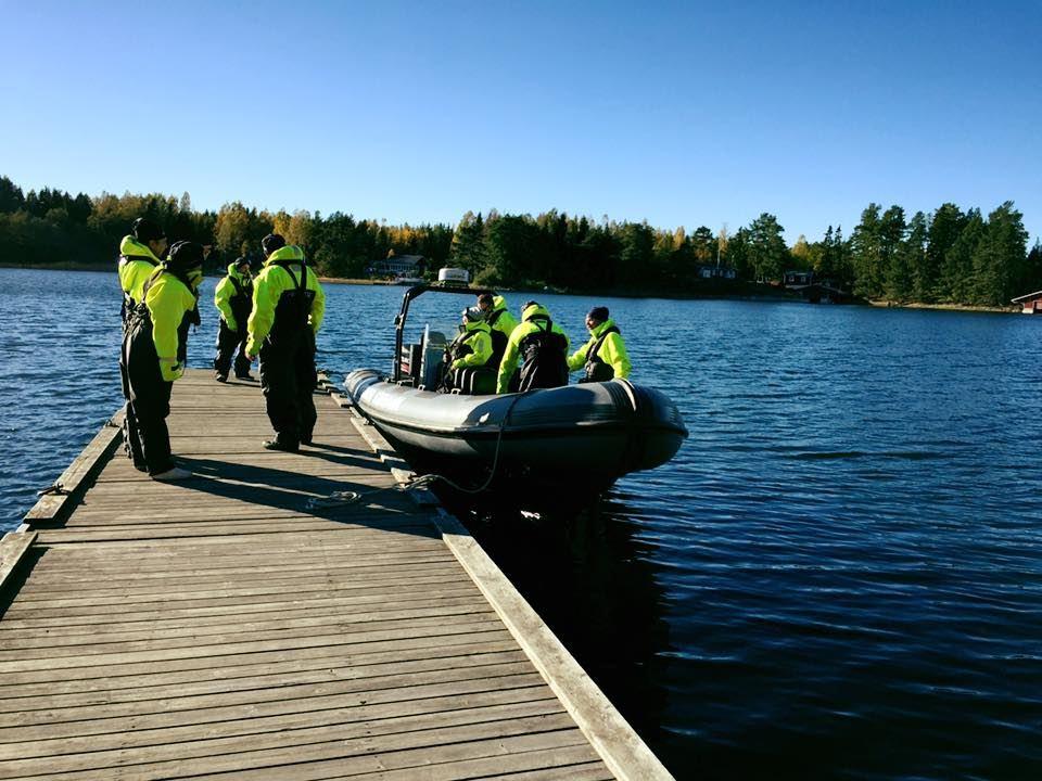 RIB båttur till Quizz på Stenö Havsbad