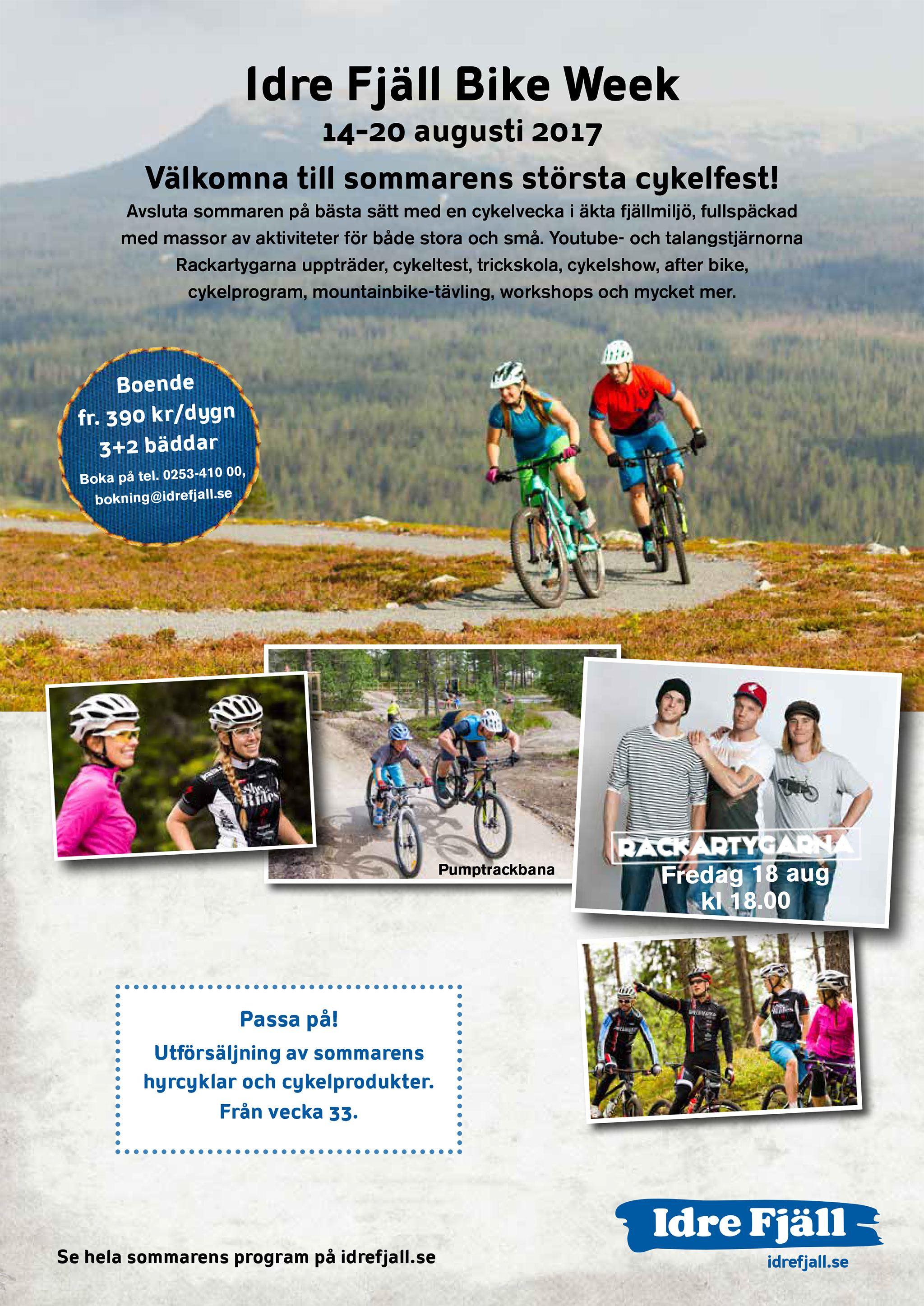 Idre Fjäll, Idre Fjäll Bike Week