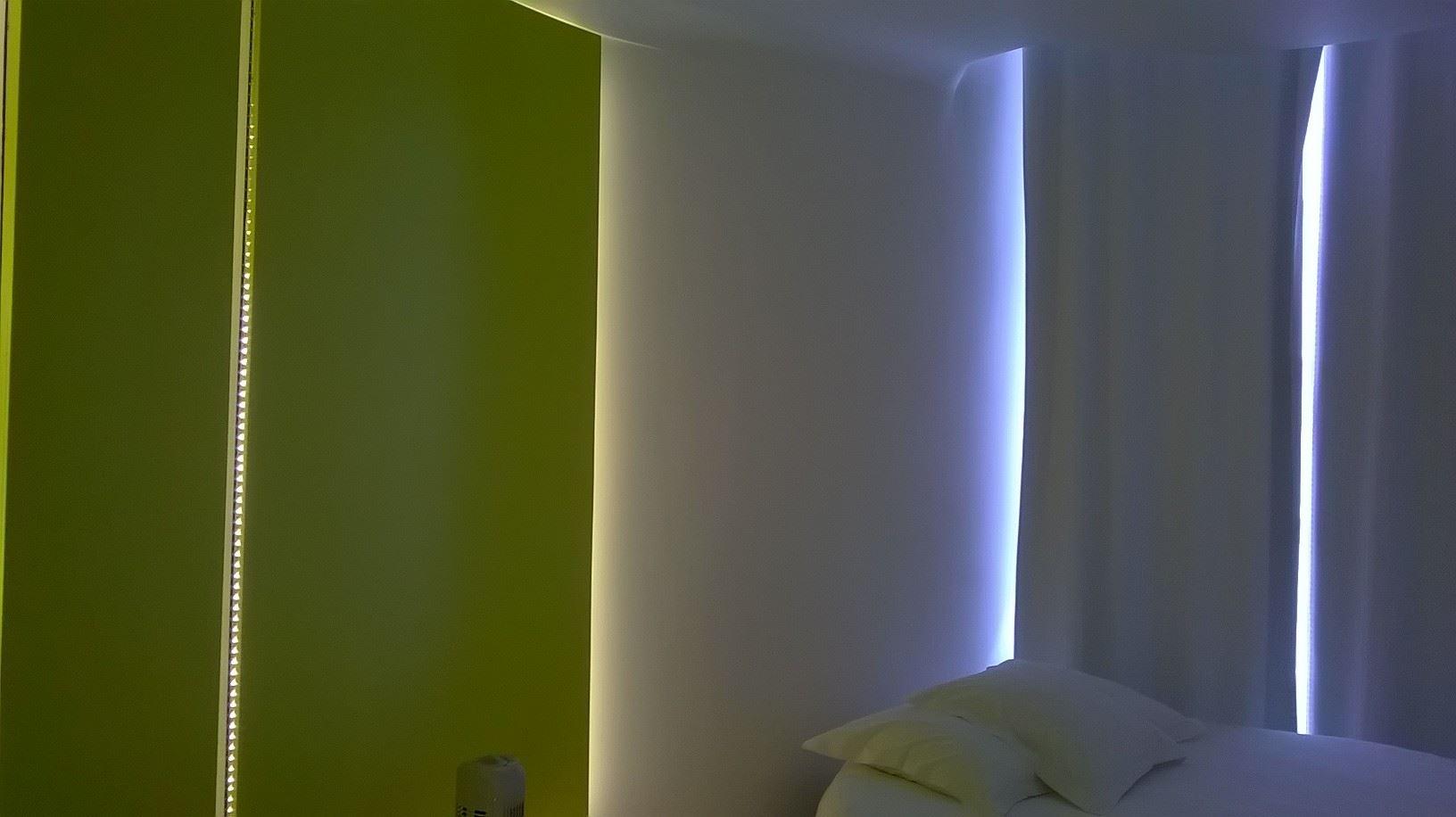 Artist designed room at Pommeraye Hotel