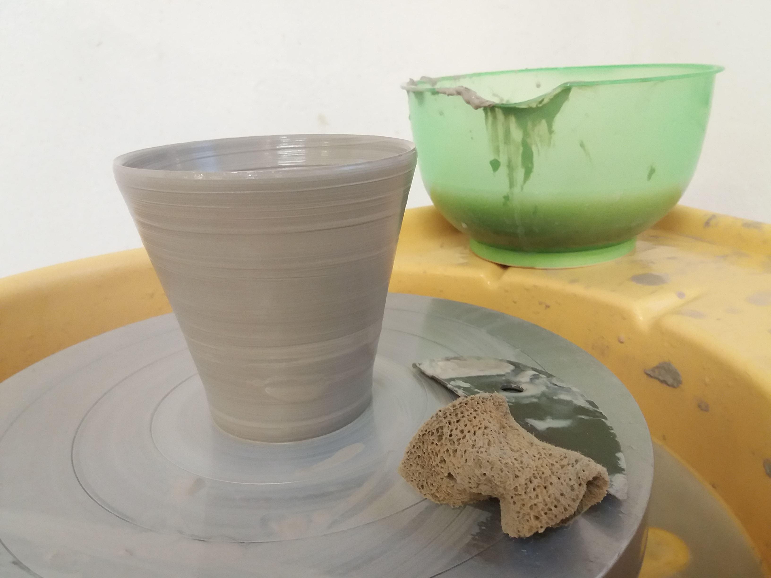 Öppen keramikverkstad