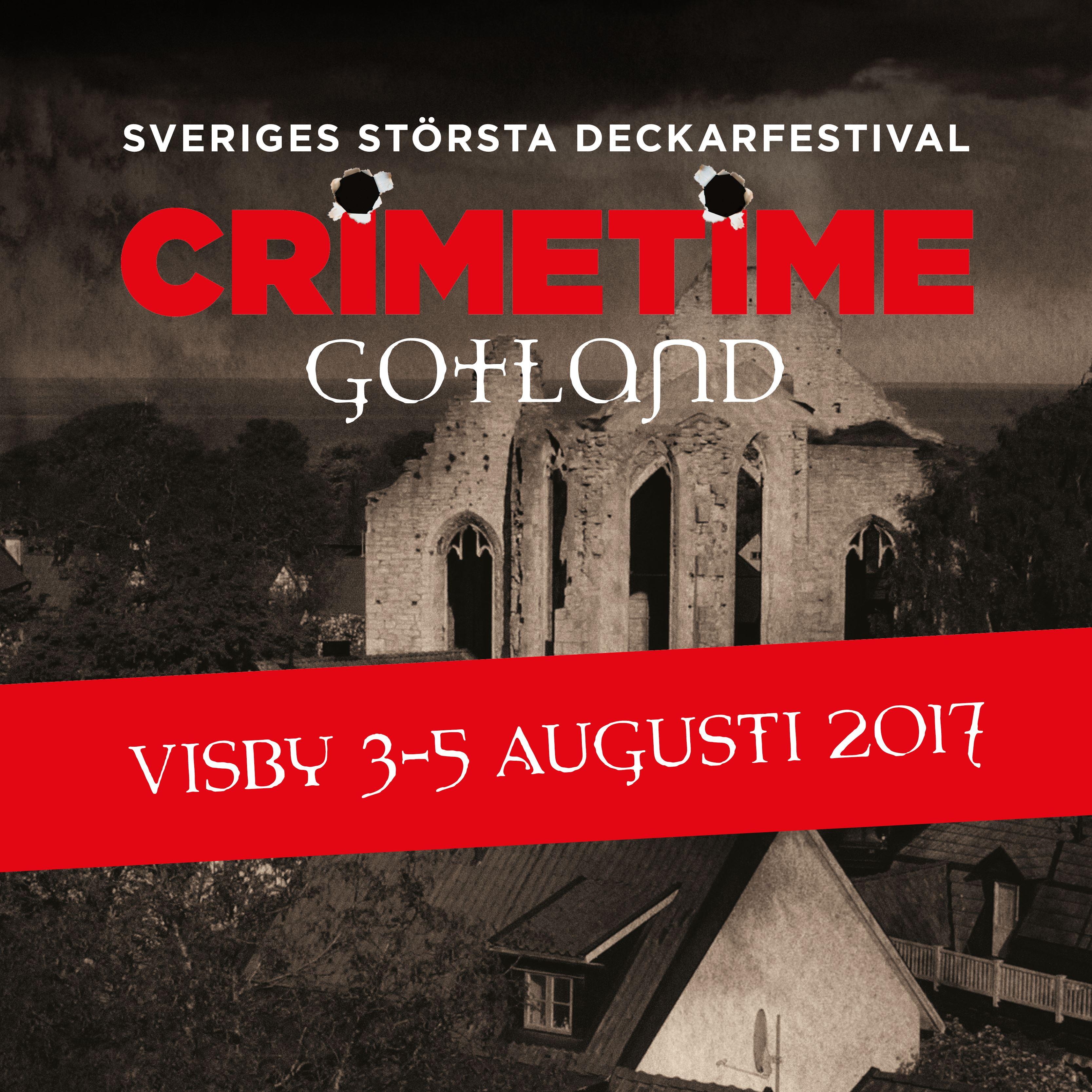 Crimetime Gotland 2017 3-dagarpass