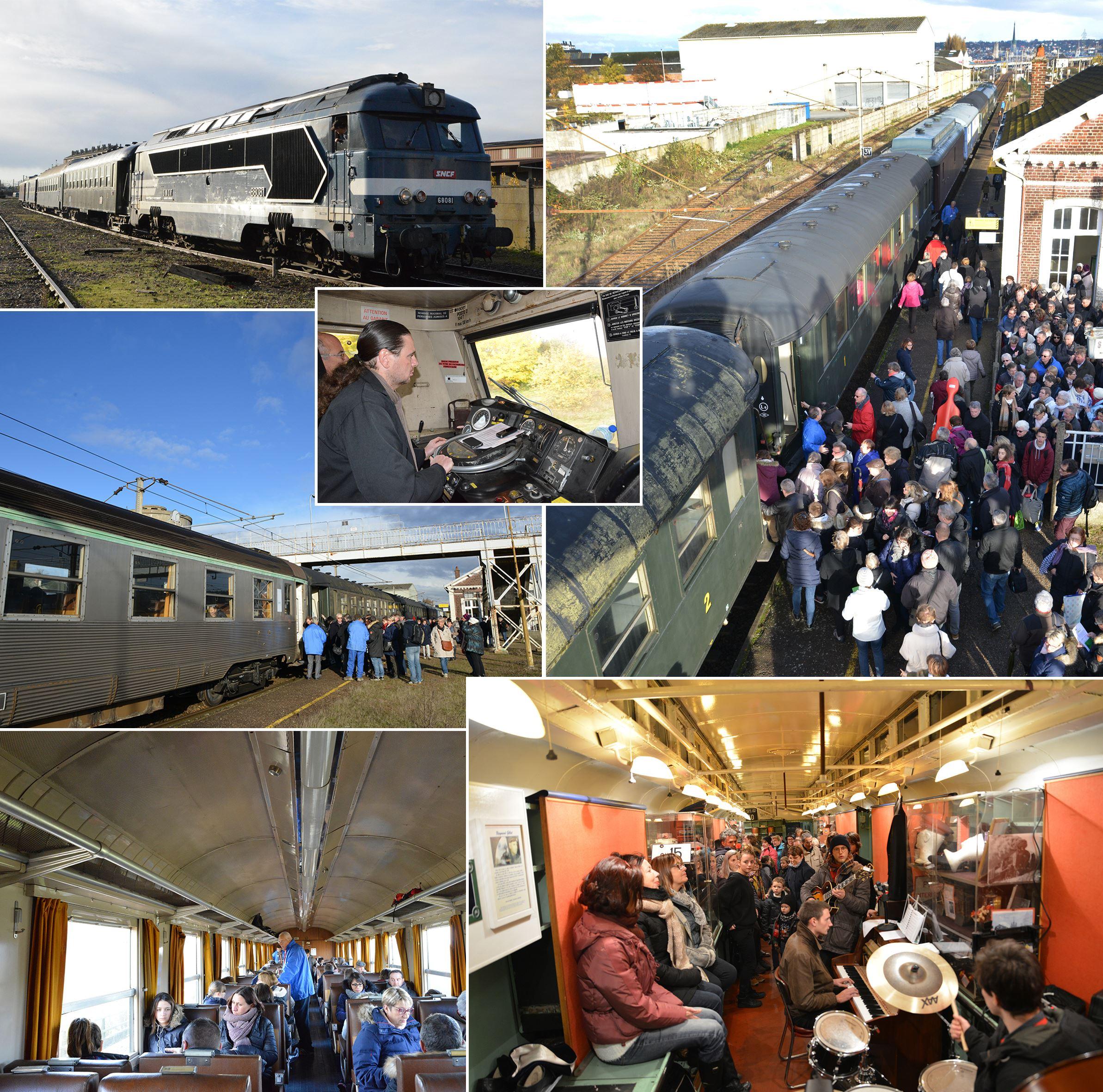 Sorties en train à vapeur ETE 2017