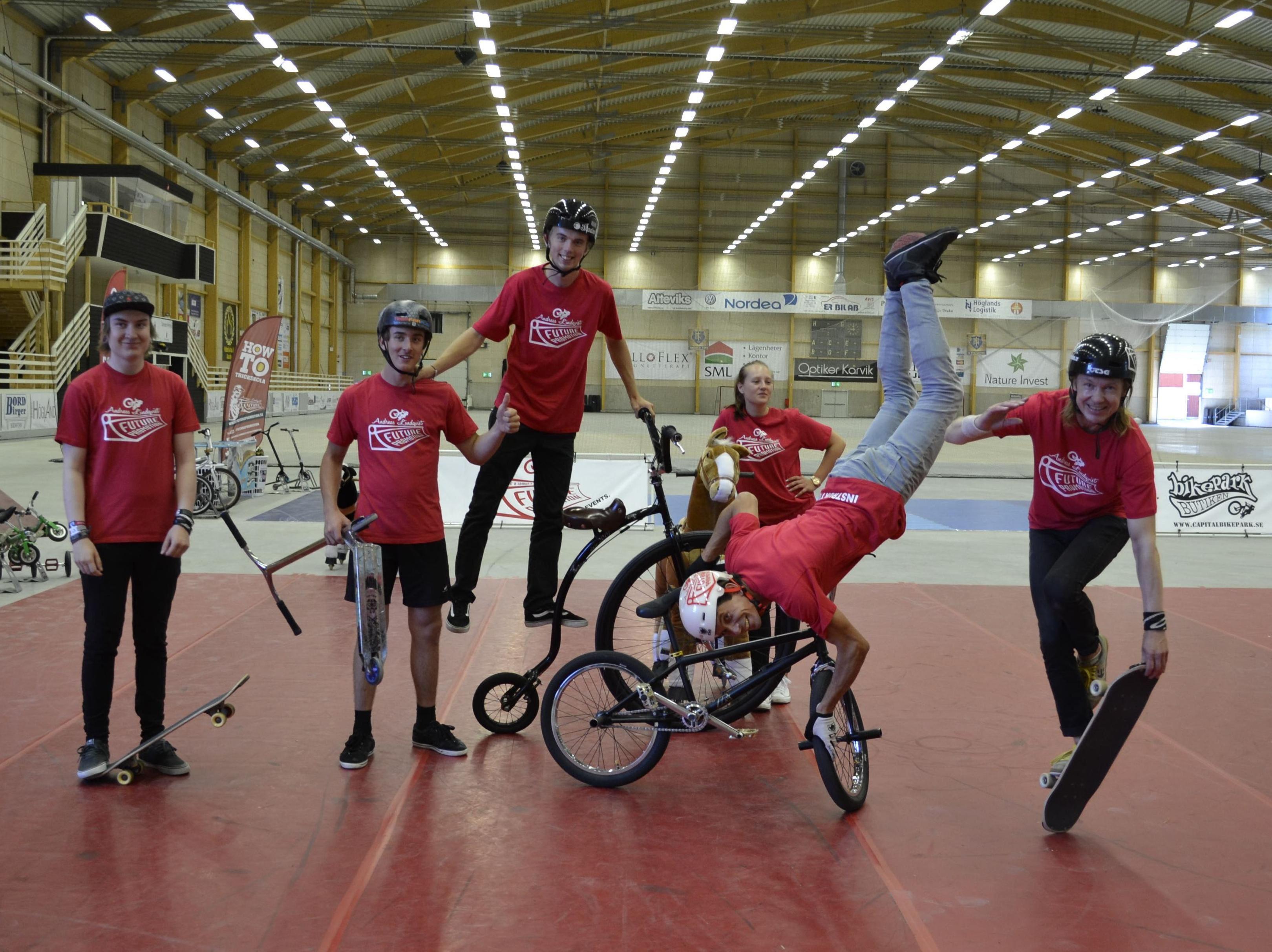 BMX, skate och kickbike event i Stinsen Arena