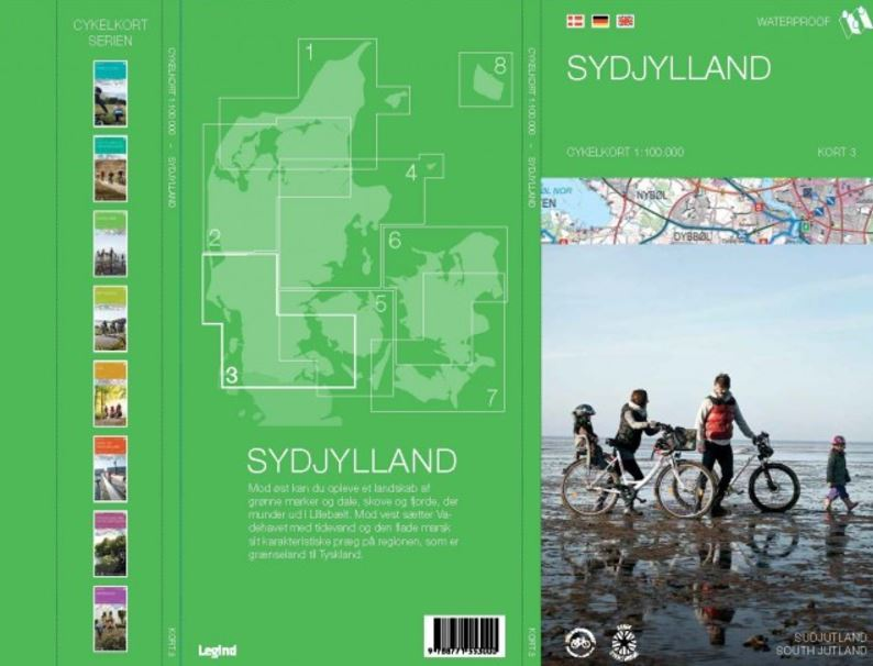 Sydjylland cykelkort