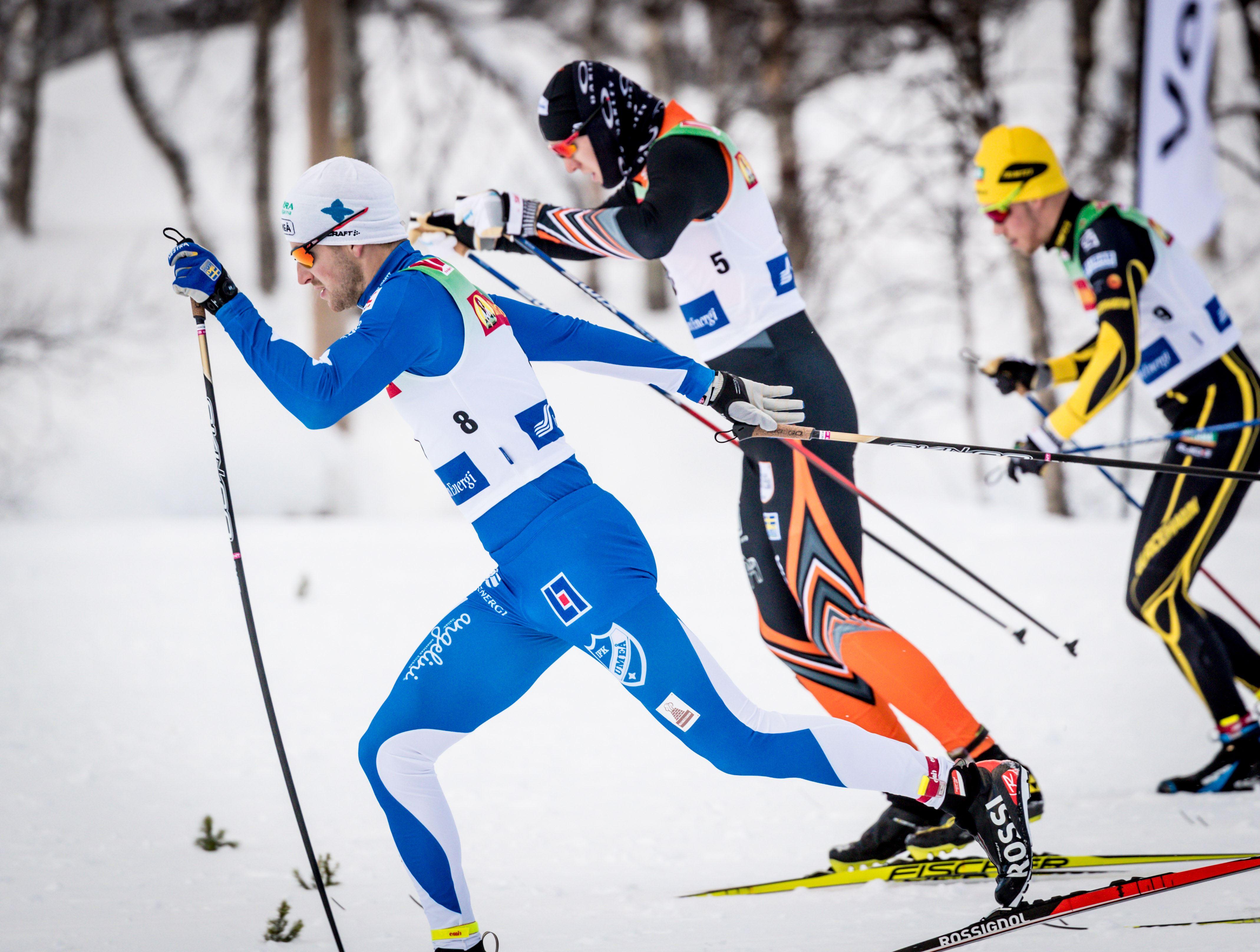 Jocke Lagercrantz, Sprintstart på Bruksvallsloppet