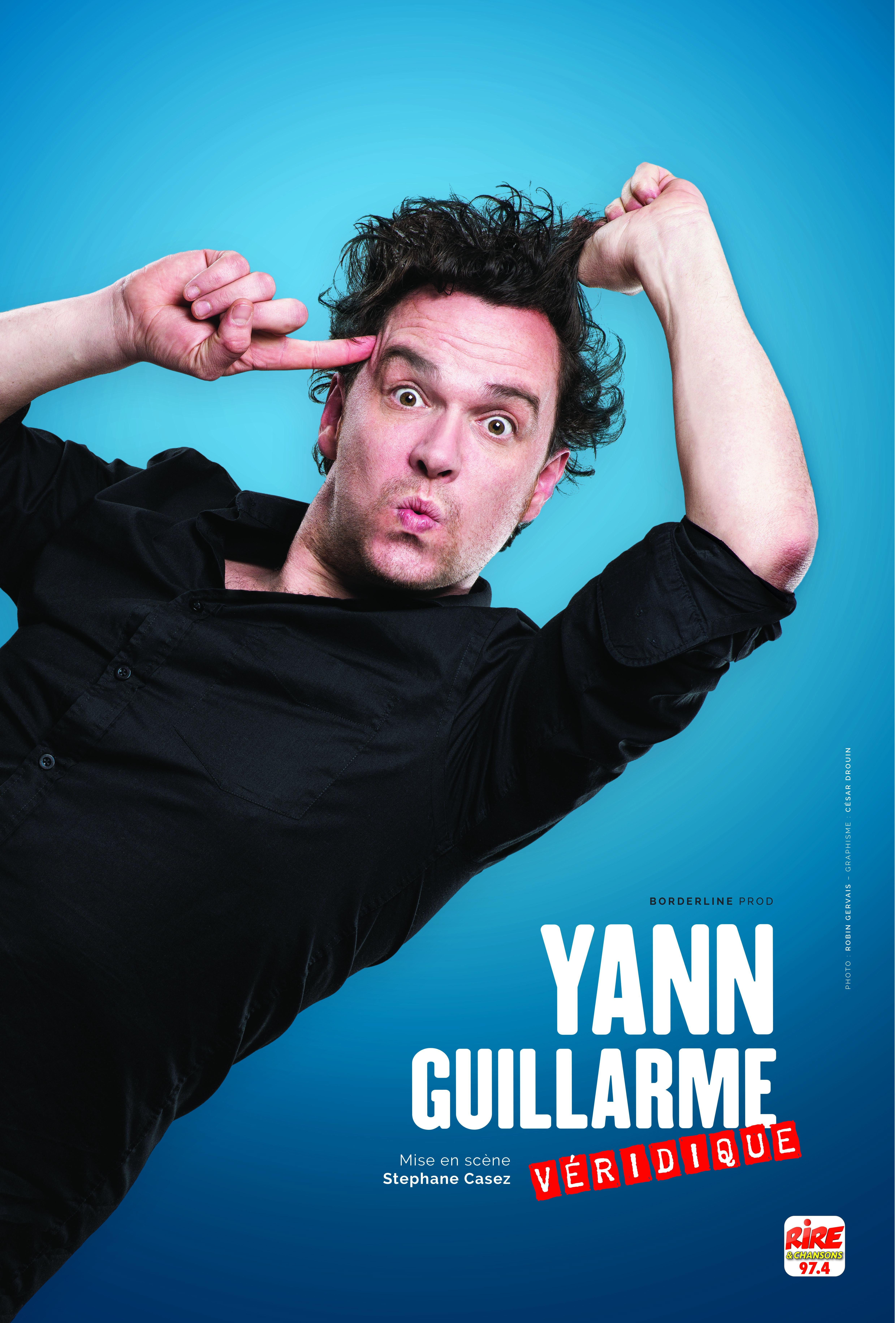 FESTIVAL RIRE EN SEINE : Yann Guillarme - Dimanche 15 octobre