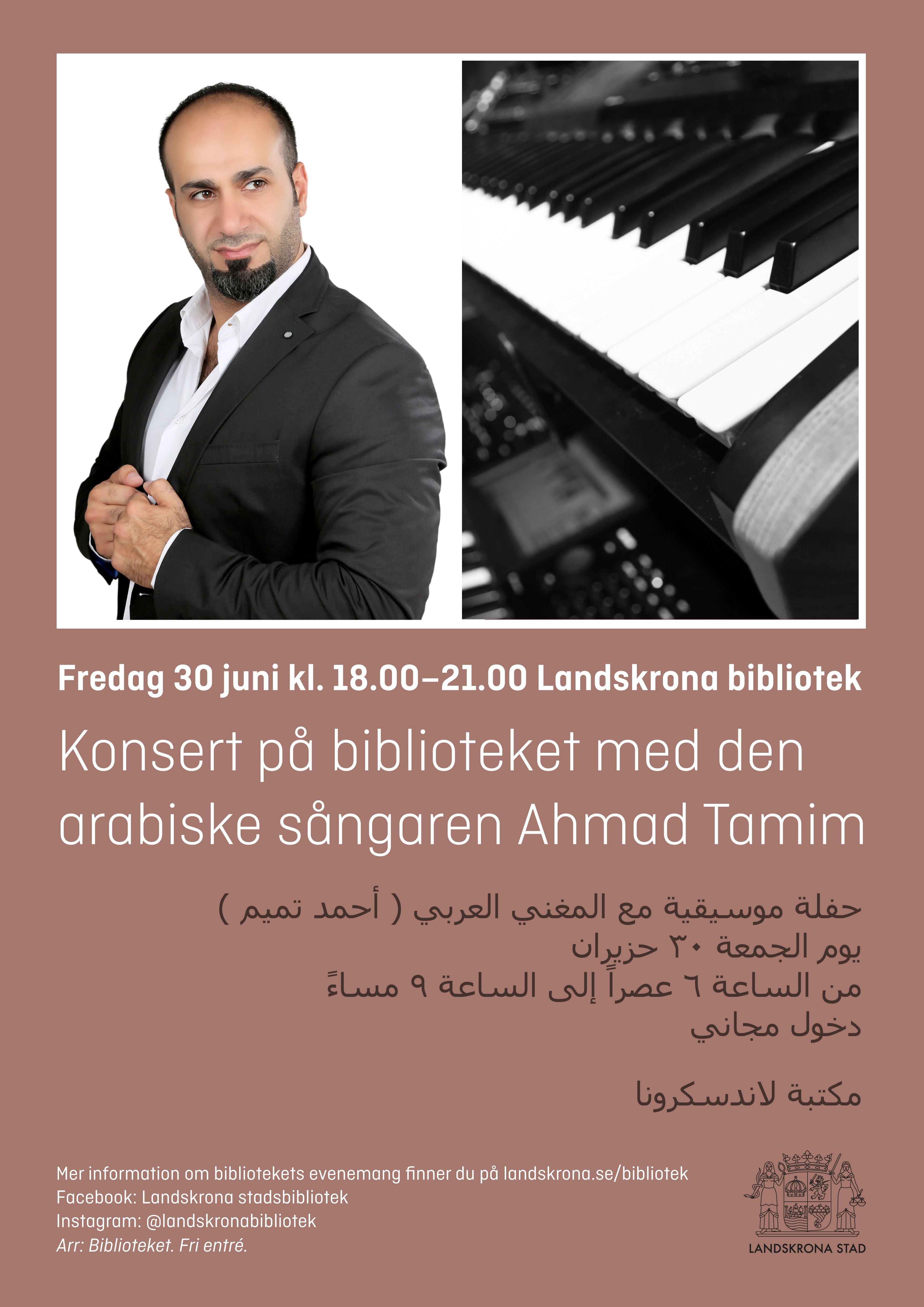 Konsert: Ahmad Tamim