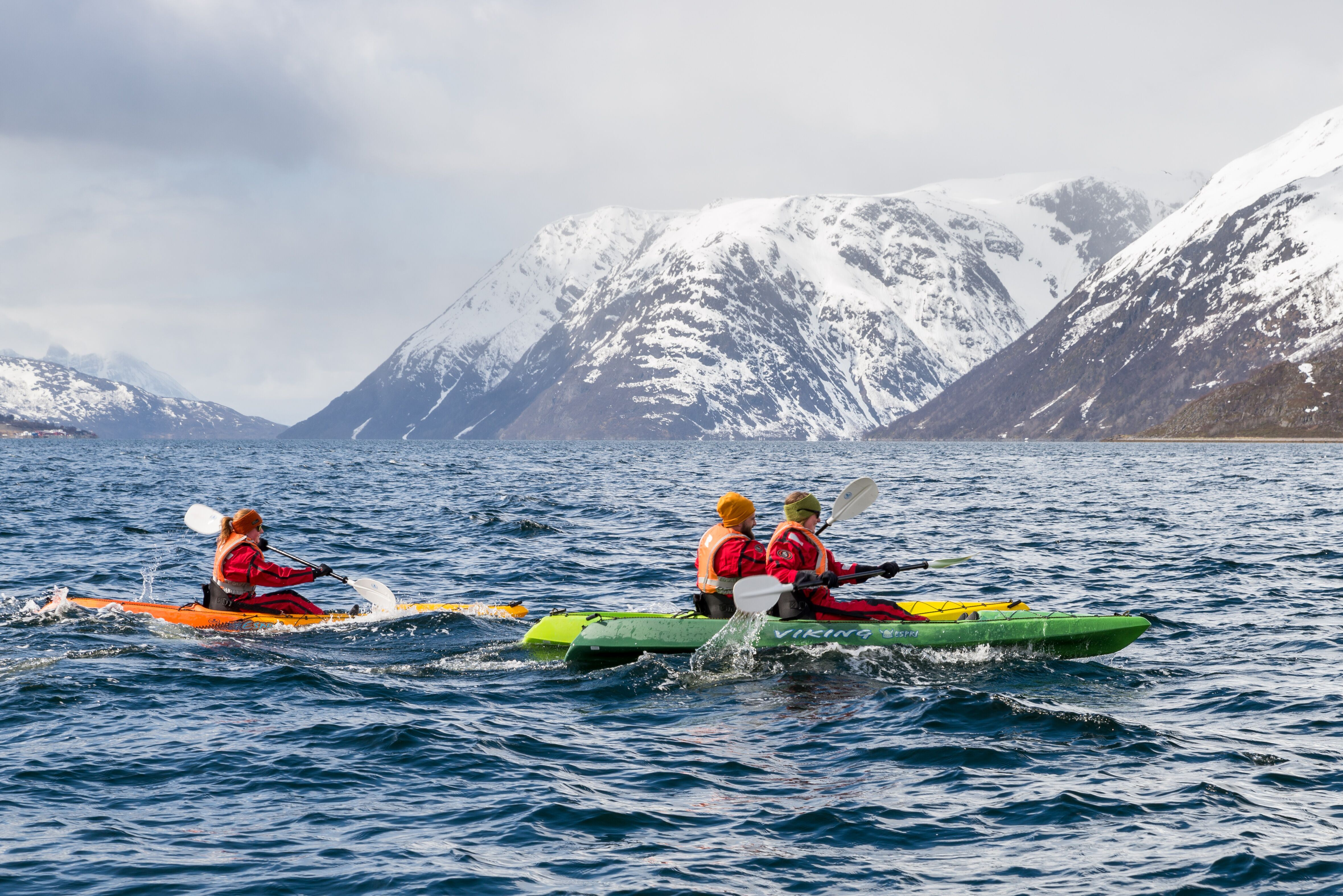EXPLORE THE WILDFJORDS AND THE GLACIER WITH KAYAK
