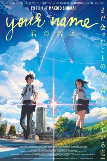 """Japansk Filmfestival """"Your name"""" (Original: """"Kimi no Na wa"""")"""