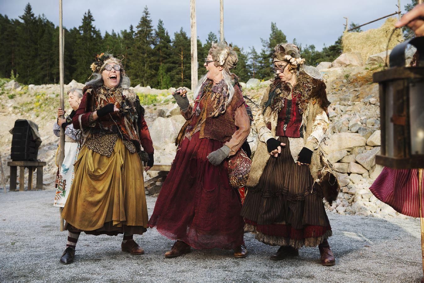 Per Eriksson, Bergtagna - sommarteater på Lugnet