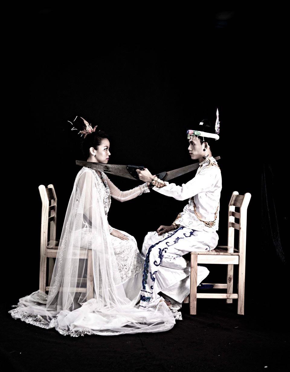 Kolatt och Yadanar Win,  © © Kolatt och Yadanar Win, Samtida konst från Burma/Myanmar