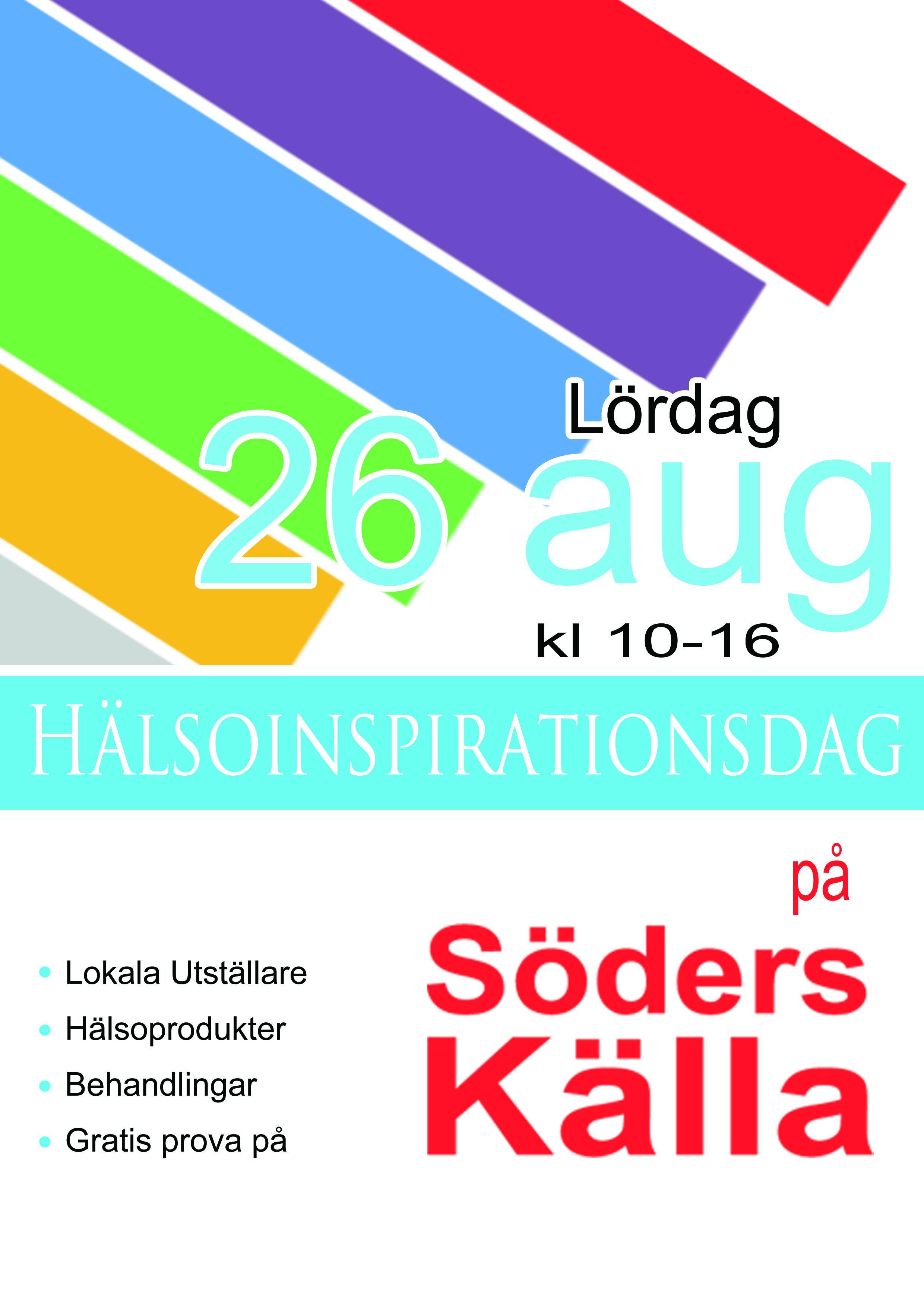 © Sabah Ingvarsson, Hälsoinspirationsdagen