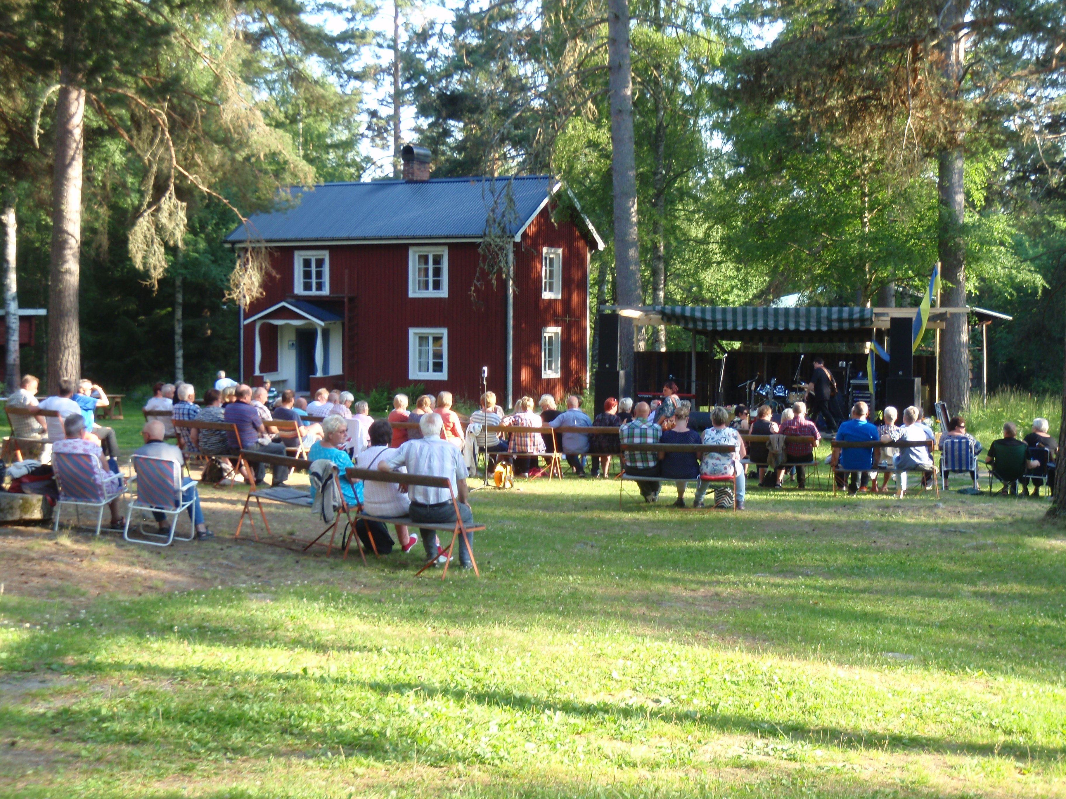 Nightdrivers konsert på Hembygdsgård