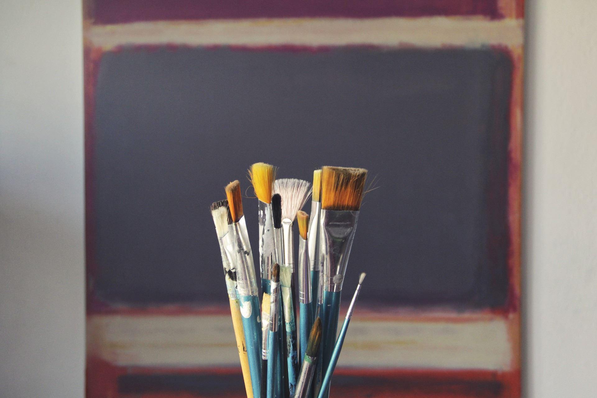 Sagor och måleri på Strandängen
