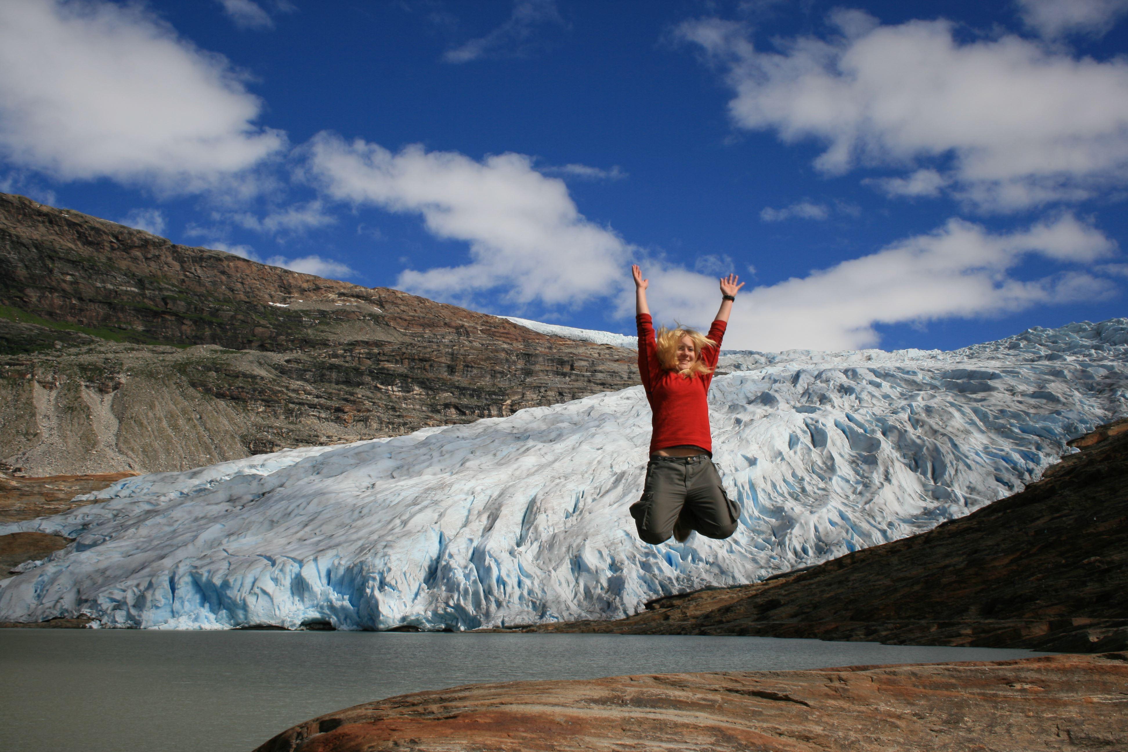 Brevandring på Austerdalsisen med Kristoffersen Friluftsliv