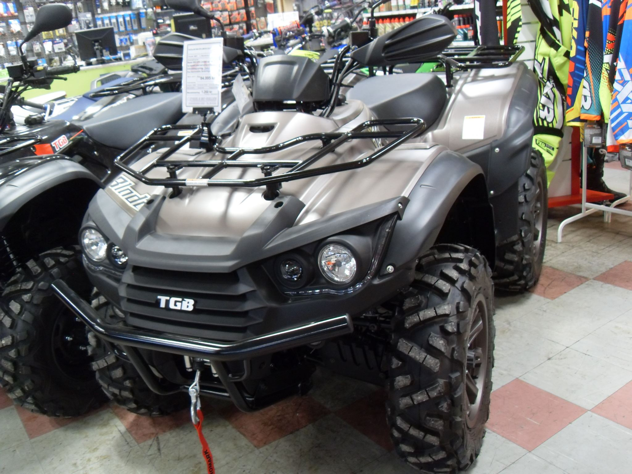 Klass D - TGB 550 (4-wheeler, allowed to drive with car driving license)
