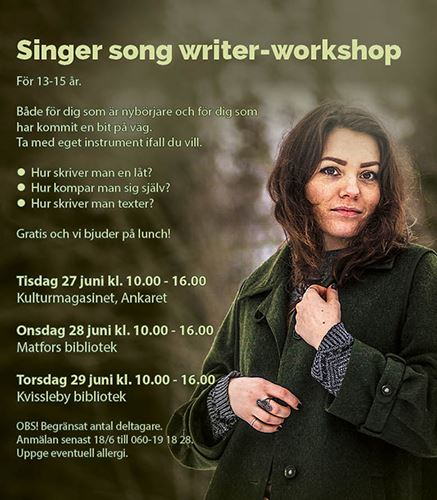 Singer song writer-workshop