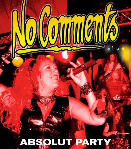 "Konsert med ""No Comments"""