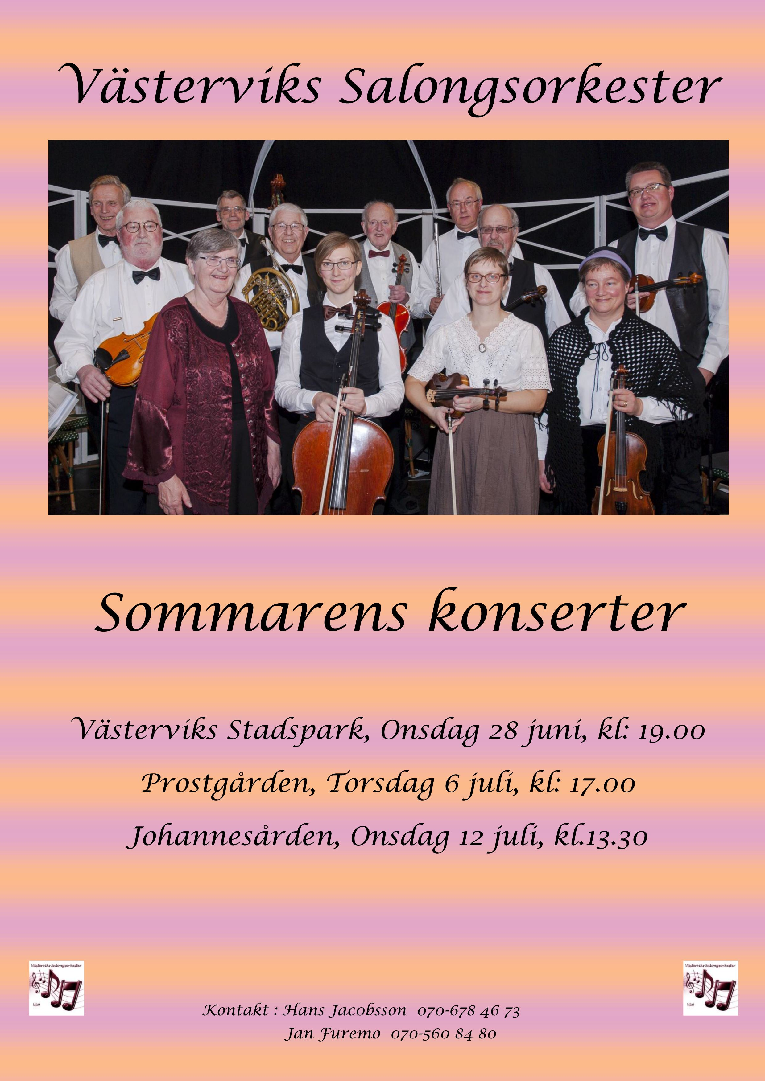 Västervik's Salongsorkester (Lounge Ochestra)