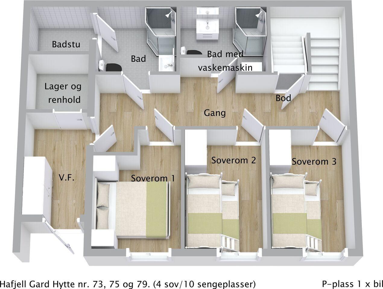 Hafjell Gard chalet 79
