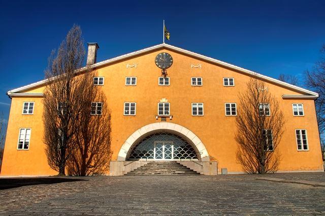 Invigning av Gunnar Asplunds tingshus