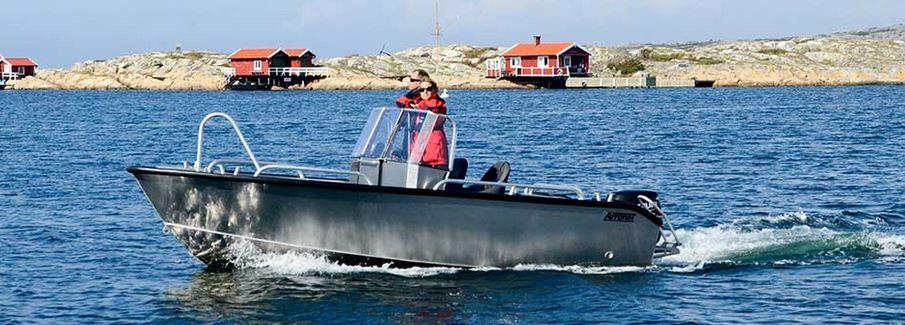 Arronet 18 SP – för fisketurer och skärgårdsäventyr!