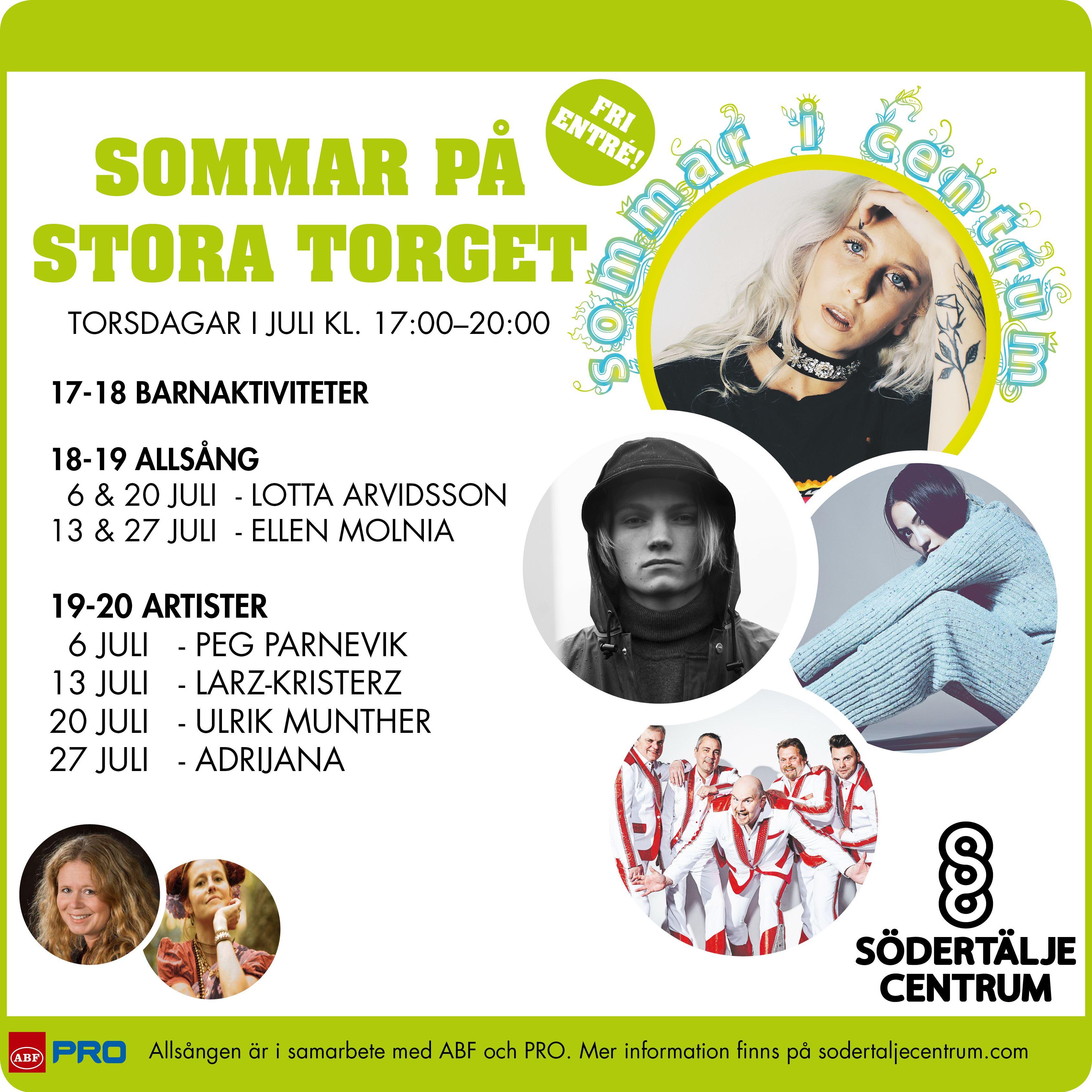Adrijana (från melodifestivalen) - Sommar på Stora Torget