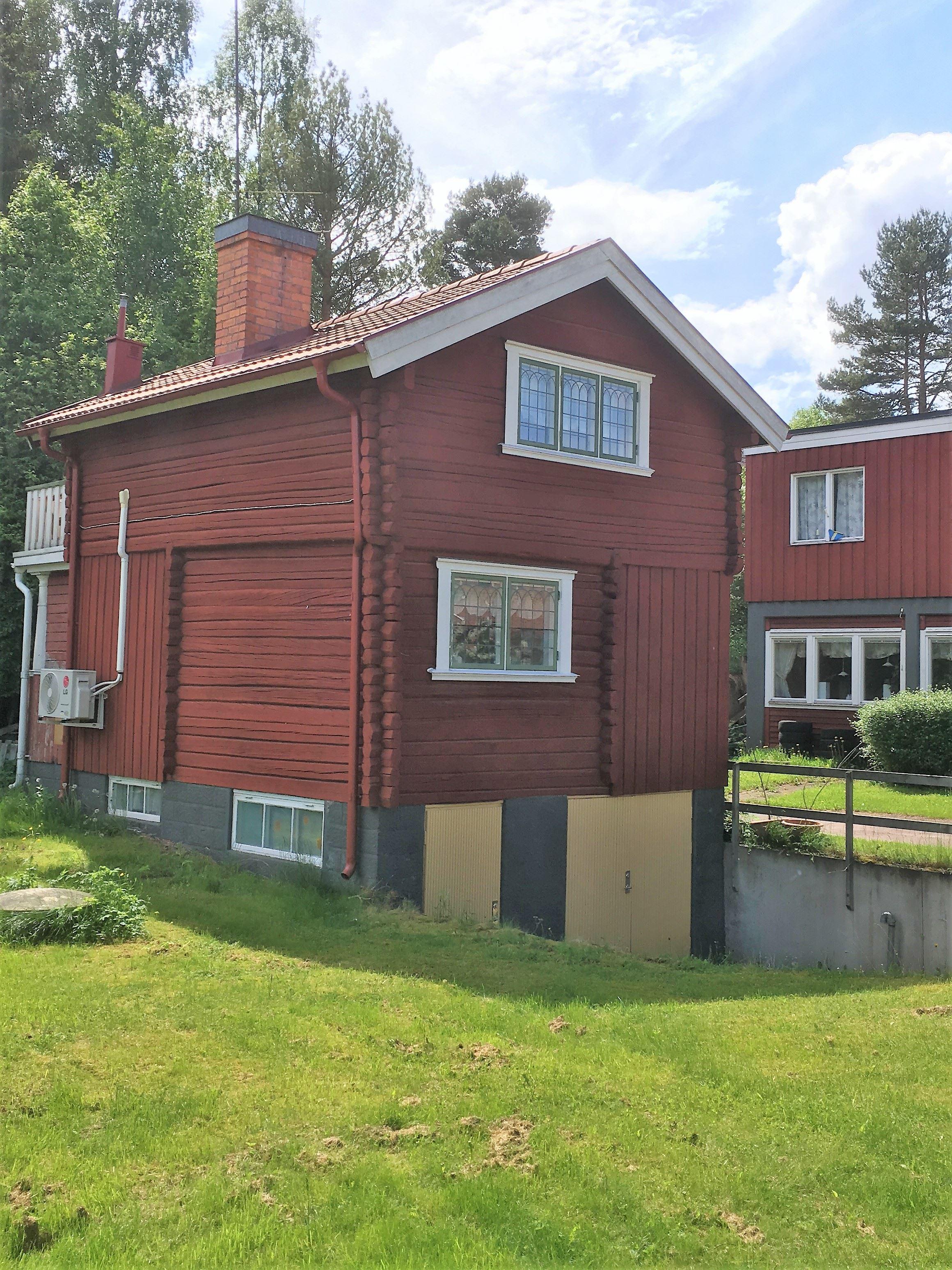 R107 Härbre i centrala Rättvik