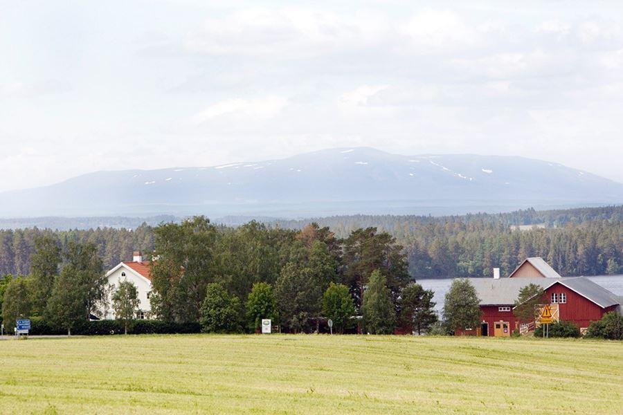 Foto: Brunkulla Gård,  © Copy: Brunkulla Gård, Vyer mot fjällen