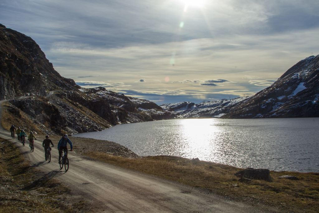 Mountain bike rental in Myrkdalen