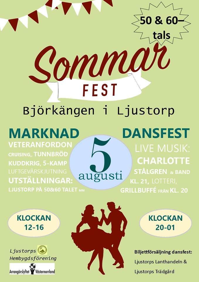 50-tals fest på Björkängen