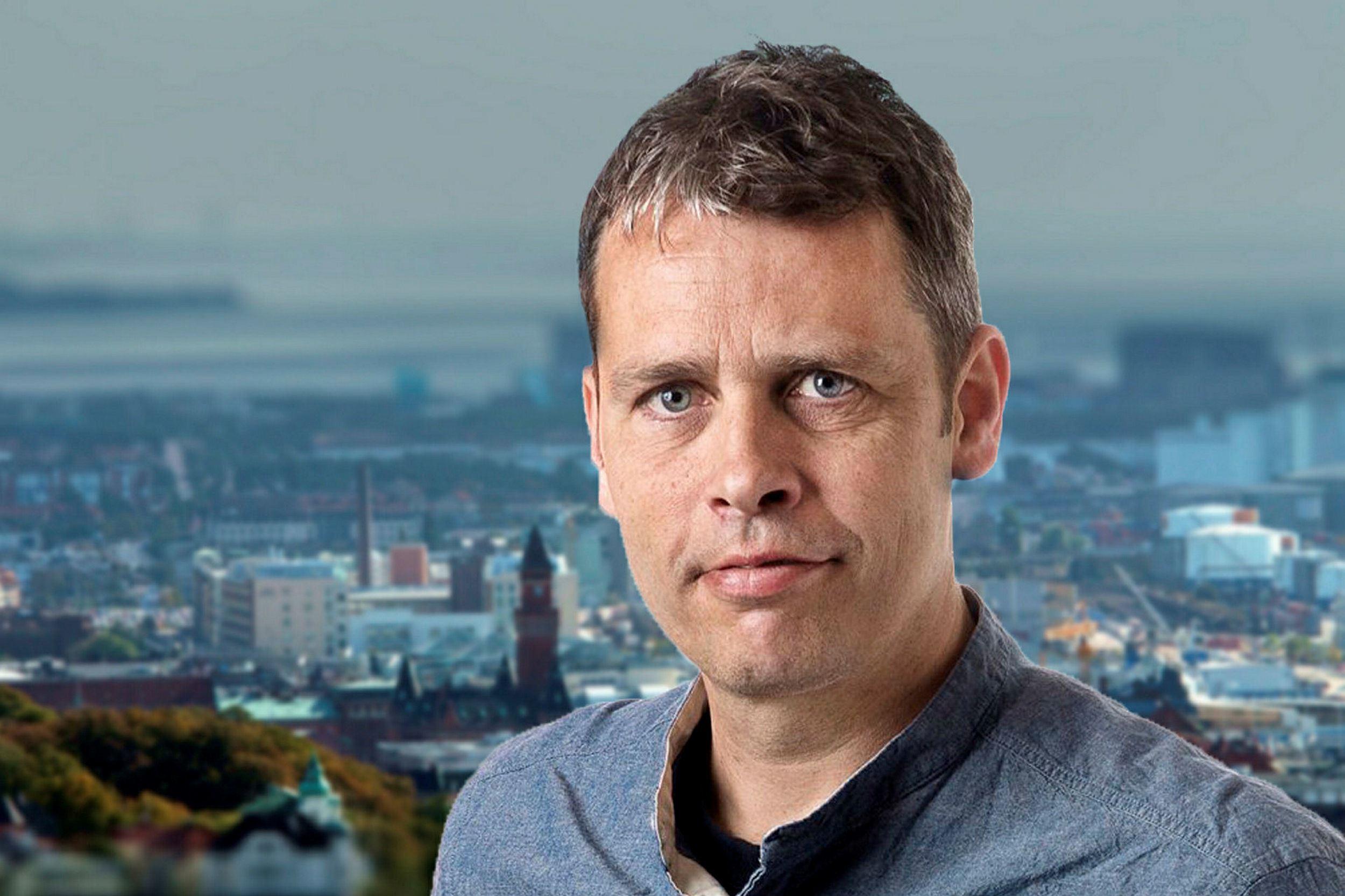 © HD, Yttrandefrihet: Fristadsförfattaren Erol Özkoray i samtal med Peter Fällmar Andersson